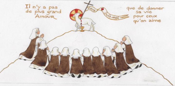 Vœux des petites sœurs disciples de l'Agneau